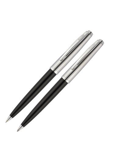 Scrikss 78 Tükenmez Kalem ve 0.7 Versatil Kalem Siyah Renkli